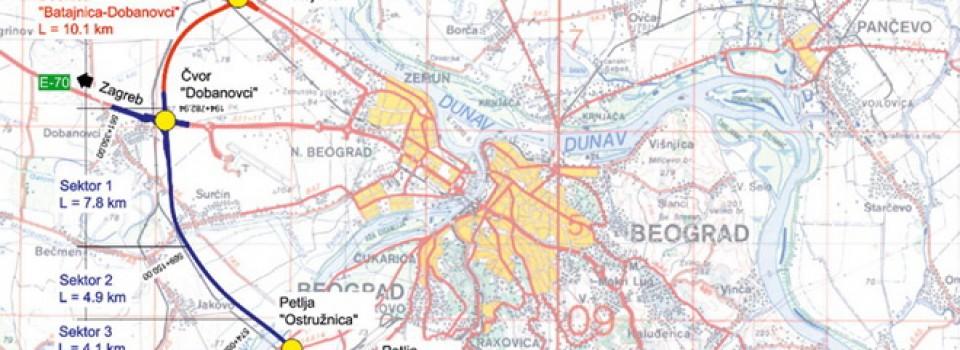 beogradska obilaznica zemljiste