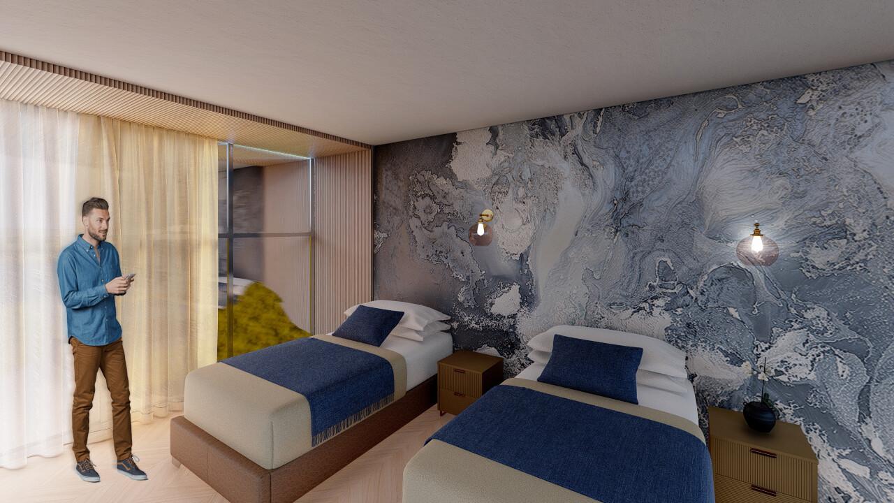 Garni hotel – dvokrevetne sobe
